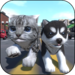 Cute Pocket Cat And Puppy 3D APK MOD Unlimited Money 1.0.7.9 for android