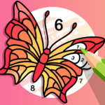 Fun Color Color By Number Pages Paint Happy APK MOD Unlimited Money 3.0.1 for android