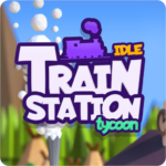 Idle Train Station Tycoon Money Clicker Inc. APK MOD Unlimited Money 1.2.7 for android