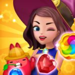 Jewel Witch – Best Funny Three Match Puzzle Game APK MOD Unlimited Money 1.7.1 for android