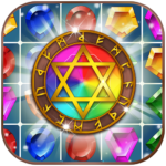 Jewels Magic Kingdom Match-3 puzzle APK MOD Unlimited Money 1.1.3 for android
