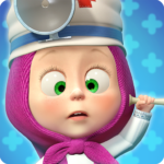 Masha and the Bear Free Animal Games for Kids APK MOD Unlimited Money 3.9.7 for android