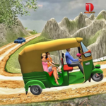 Mountain Auto Tuk Tuk Rickshaw New Games 2020 APK MOD Unlimited Money 2.0.14 for android