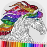 Relaxing Adult Coloring Book APK MOD Unlimited Money 2.5 for android