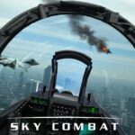 Sky Combat war planes online simulator PVP APK MOD Unlimited Money 1.0 for android