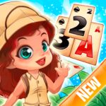 Solitaire Tripeaks – Lost Worlds Adventure APK MOD Unlimited Money 3.1 for android