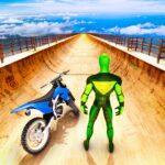 Superhero Bike Stunt GT Racing – Mega Ramp Games APK MOD Unlimited Money 1.4 for android