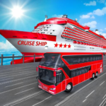 Transport Cruise Ship Game Passenger Bus Simulator APK MOD Unlimited Money 2.7 for android
