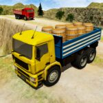 3D Euro Truck Driving Simulator – Real Cargo Game APK MOD Unlimited Money 1.0 for android