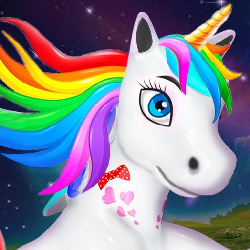 Baby Unicorn Wild Life Pony Horse Simulator Games APK MOD Unlimited Money 1.0.5 for android