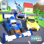Crossy Brakes Blocky Toon Racer APK MOD Unlimited Money for android