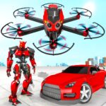 Drone Robot Car Transforming Game Car Robot Games APK MOD Unlimited Money 1.0 for android