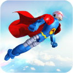 Flying Hero Robot Transform Car Robot Games APK MOD Unlimited Money 1.2.1 for android