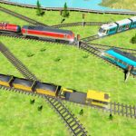 Indian Train City 2019 Oil Trains Game Driving APK MOD Unlimited Money 4 for android