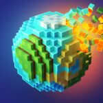 PlanetCraft Block Craft Games APK MOD Unlimited Money 4.12 for android