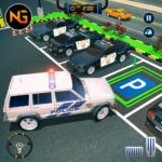 Police Car Parking Police Jeep Driving Games APK MOD Unlimited Money 1.1.2 for android
