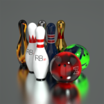 Real Bowling 3D -Physics Engine Bowling Game- APK MOD Unlimited Money 2.14.1 for android