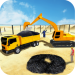 Real City Road Construction 3D APK MOD Unlimited Money 1.3 for android