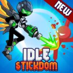 Stickdom Idle Taptap Titan Clicker Heroes APK MOD Unlimited Money 0.2.2 for android