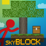 Stickman vs Multicraft Skyblock Craft APK MOD Unlimited Money 1.0.4 for android