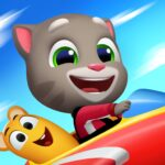 Talking Tom Sky Run The Fun New Flying Game APK MOD Unlimited Money 1.2.0.1340 for android