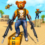 Teddy Bear Gun Strike Game Counter Shooting Games APK MOD Unlimited Money 1.9 for android
