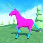 Unicorn Simulator Family Free 2Wild Horse Game APK MOD Unlimited Money 1.38 for android