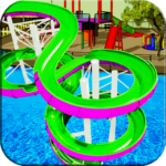 Water Slide Games Simulator APK MOD Unlimited Money 1.1 for android
