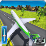 Airplane Flight Adventure Games for Landing APK MOD Unlimited Money 1.0.5 for android