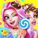 Candy Makeup Party Salon APK MOD Unlimited Money 1.0.2 for android