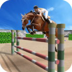 Jumping Horse Racing Simulator APK MOD Unlimited Money 2.4 for android