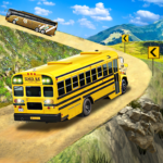 Offroad School Bus Driving Flying Bus Games 2020 APK MOD Unlimited Money 1.35 for android