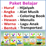 Paket Belajar Lengkap Anak APK (MOD, Unlimited Money) 1.1.22 for android