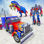 Police Truck Robot Game Transforming Robot Games APK MOD Unlimited Money 1.0.4 for android
