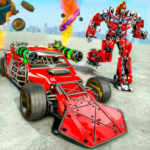 Ramp Car Robot Transforming Game Robot Car Games APK MOD Unlimited Money 1.1 for android