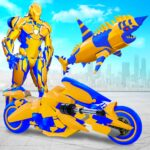Robot Shark Attack Transform Robot Shark Games APK MOD Unlimited Money 24 for android