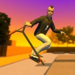 Street Lines Scooter APK MOD Unlimited Money 1.11 for android
