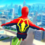 Super Heroes Fly Sky Dance – Running Game APK MOD Unlimited Money 0.6 for android