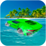 Water Surfer Floating Car APK MOD Unlimited Money 1.3 for android