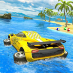 Water Surfer car Floating Beach Drive APK MOD Unlimited Money 1.16 for android