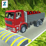 3D Truck Driving Simulator – Real Driving Games APK MOD Unlimited Money 2.0.045 for android