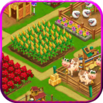 Farm Day Village Farming Offline Games APK MOD Unlimited Money 1.2.39 for android