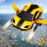 Flying Robot Car Games – Robot Shooting Games 2020 APK MOD Unlimited Money 2.1 for android