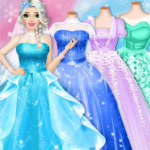 Ice Princess Wedding Dress Up Stylist APK MOD Unlimited Money 0.8 for android