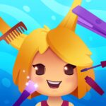 Idle Beauty Salon Hair and nails parlor simulator APK MOD Unlimited Money 1.0.0003 for android