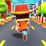 KIDDY RUN – Blocky 3D Running Games Fun Games APK MOD Unlimited Money 1.04 for android