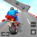 Police Bike Stunt Games Mega Ramp Stunts Game APK MOD Unlimited Money 1.0.7 for android