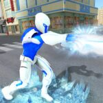 Snow Storm Super Human Flying Ice Superhero War APK MOD Unlimited Money 1.0.3 for android