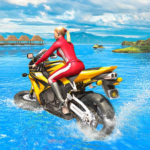 Water Surfer Racing In Moto APK MOD Unlimited Money 1.7 for android