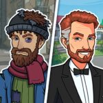 Hobo Life Business Simulator Money Clicker Game APK MOD Unlimited Money 1.10 for android